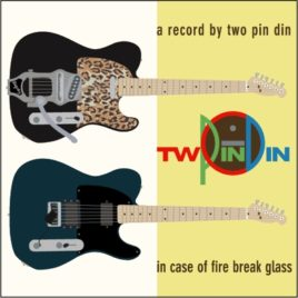 TWO PIN DIN 'IN CASE OF FIRE BREAK GLASS' CD