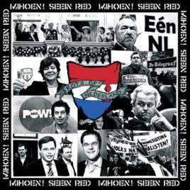 SEEIN RED / MIHOEN 'Kots op nederland' 10″