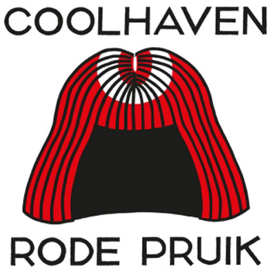 coolhaven rode pruik